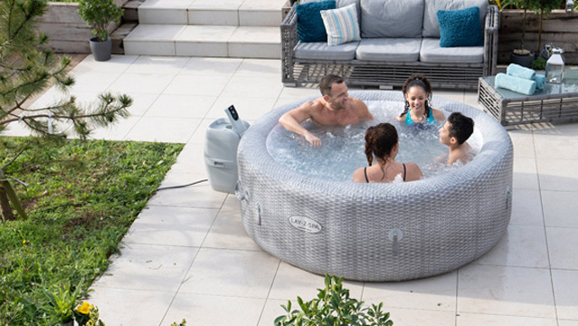 Consider The Weight Of Your Inflatable Hot Tub