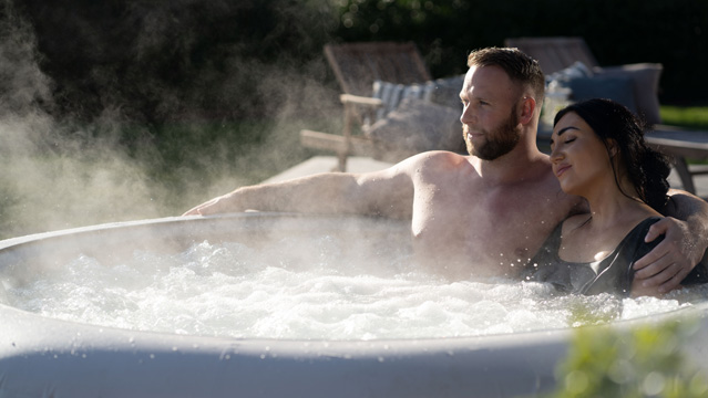 Inflatable hot tubs you can use all year
