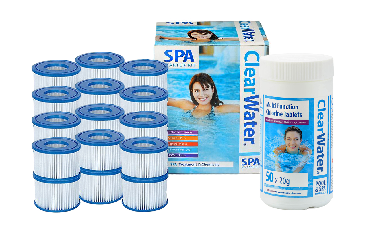 Free Lay-Z-Spa Chemicals