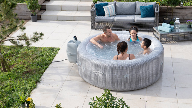 Lay-Z-Spa is The UKs Most 5 Star Reviewed Inflatable Hot Tub Brand
