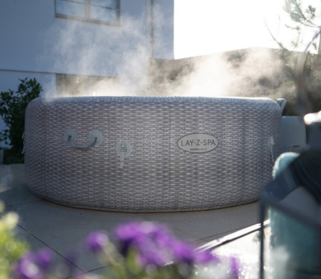 Use Your Inflatable Hot Tub All Year With Freeze Shield™