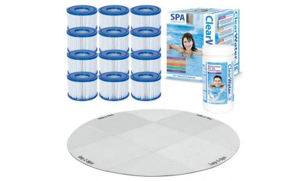 Lay-Z-Spa Platinum Starter Kit