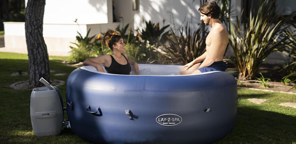 Re-introducing the Lay-Z-Spa Saint Tropez AirJet™