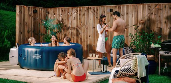 Lay-Z-Spa Owners Creating Their Everyday Oasis