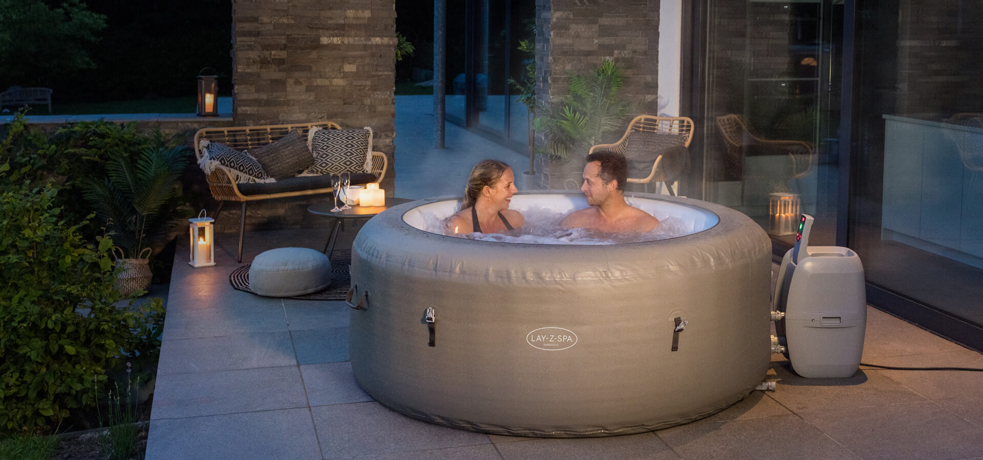 Lay-Z-Spa UK inflatable hot tubs