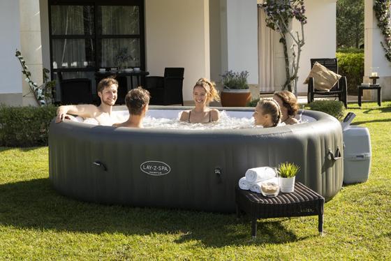 biggest lay z spa hot tub