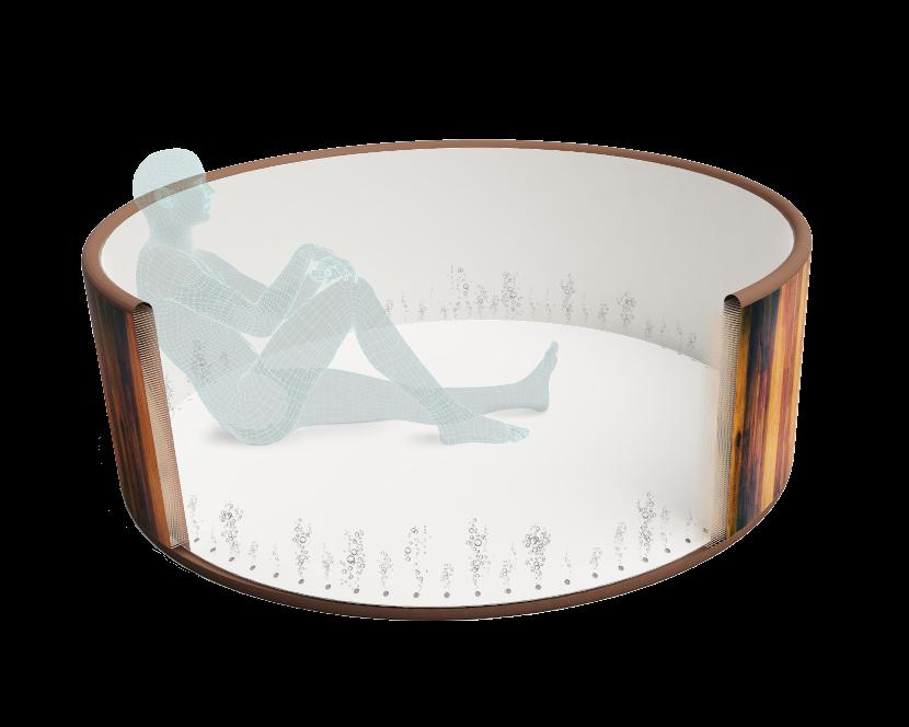 hot tub cross section