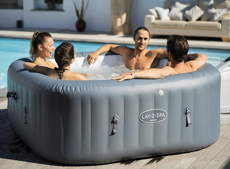 hydrojet hot tub