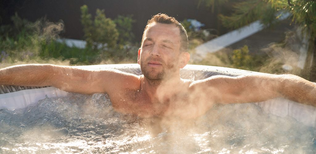 Hot tubs can help improved your immune system