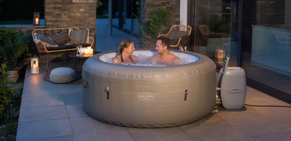 Lay-Z-Spa, inflatable hot tubs you can use all-year round