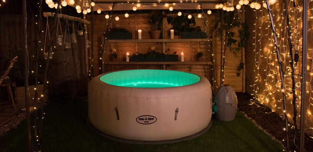 Lighting for your hot tub party