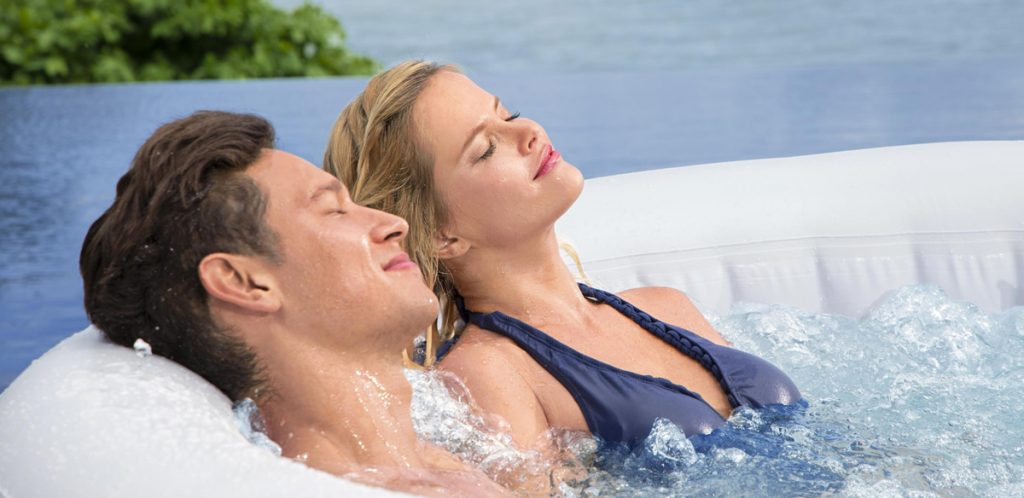 Get a better night's sleep after spending time in a hot tub