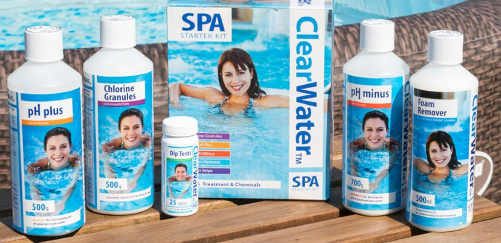 Essential chemicals for your Lay-Z-Spa
