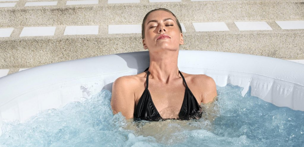 Relax with a hydromassage