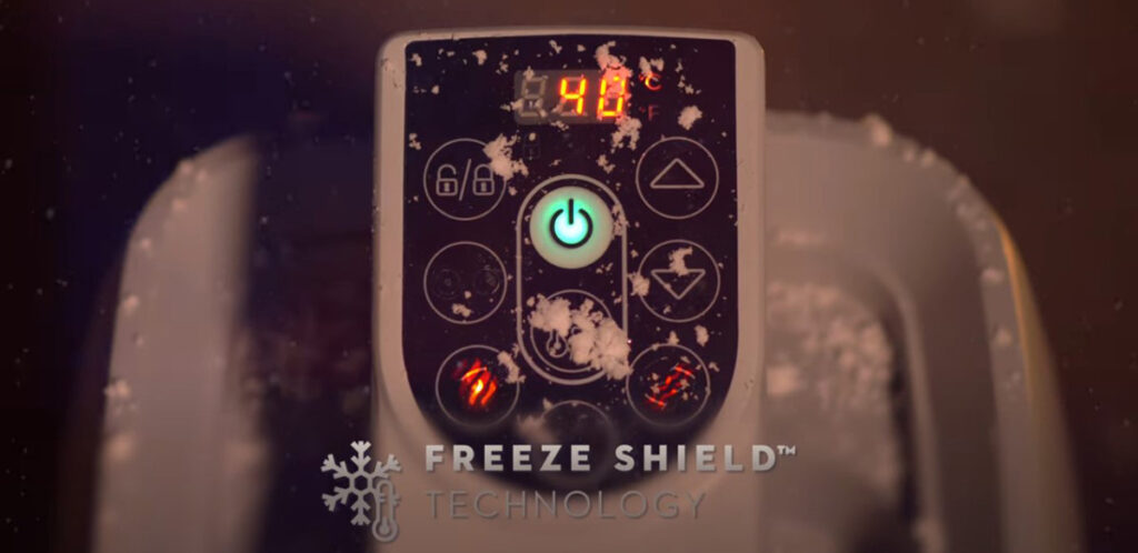 Freeze Shield on all 2021 Lay-Z-Spa inflatable hot tubs