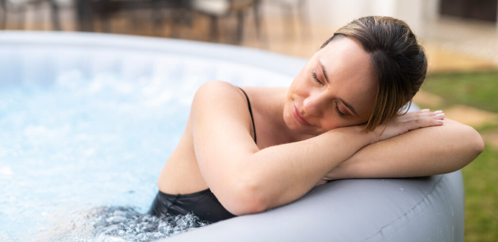Portable Hot Tub Wellbeing Benefits for Everyone. Your inflatable spa has many benefits that you might not be aware of.