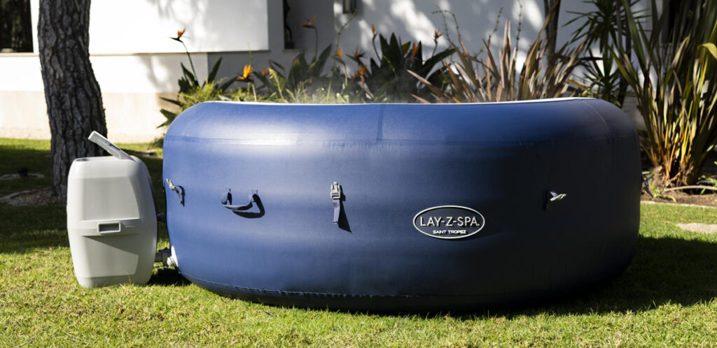 Buy a Lay-Z-Spa hot tub from Amazon.