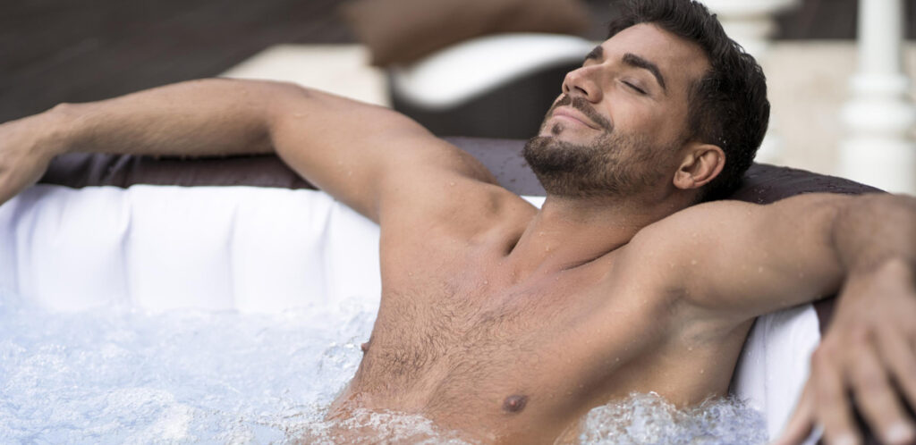 Using a hot tub for health benefits can be as good as physical exercise.