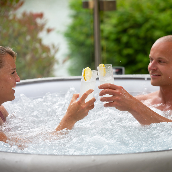 Alcohol-free Mojito recipe specially curated to drink in your inflatable hot tub.