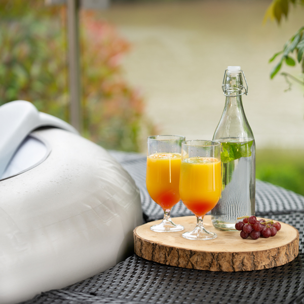 Fruit mocktail recipe created by Lay-Z-Spa hot tubs UK.